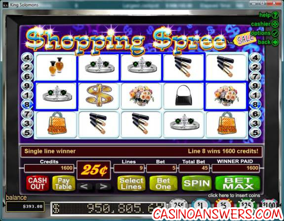 shopping-spree-king-solomons-casino