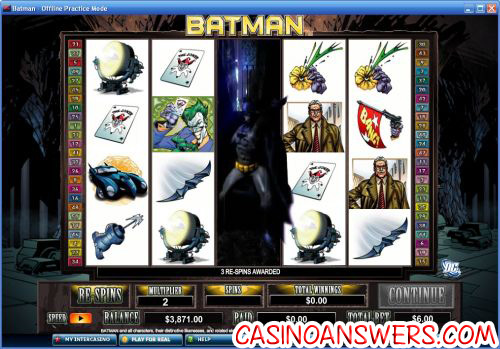 Batman Slot Bonus