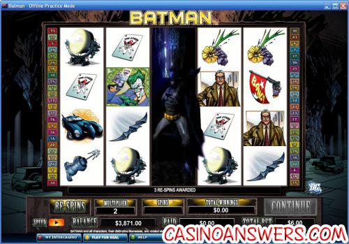 Batman Slot Bonus