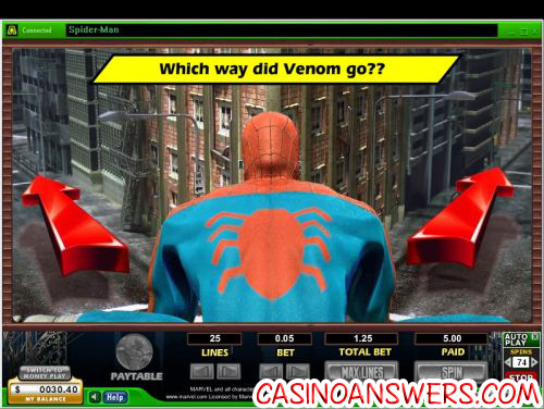 Cryptologic Marvel Video Slots Spiderman