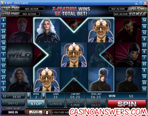 Xmen Video Slot Marvel 2