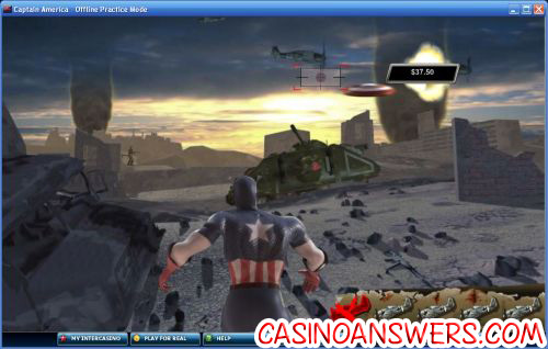 captain america marvel slot 2