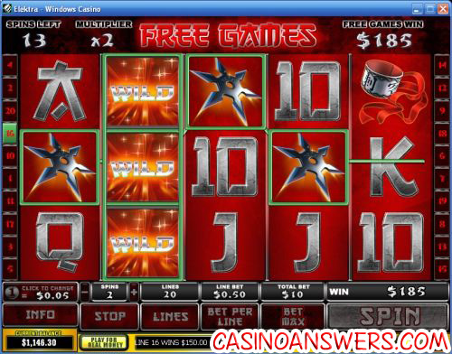 Elektra Playtech Marvel Comics Video Slot