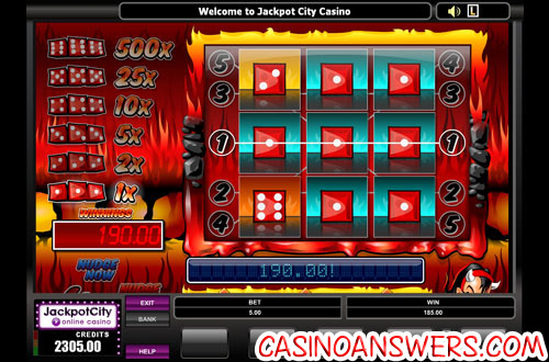 Fire N Dice Slot Machine