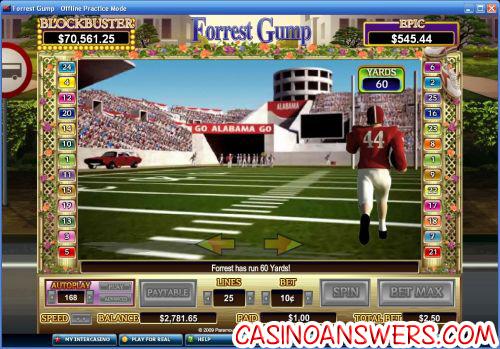 forrest gump slot bonus game