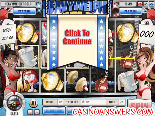 Heavyweight Gold Interactive Slot