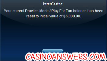 intercasino play money