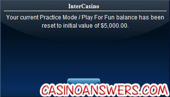 intercasino play money