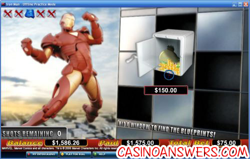 iron man comic slot 2