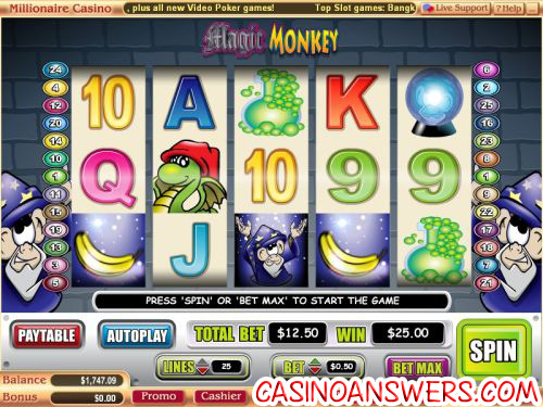 magic monkey slot 1
