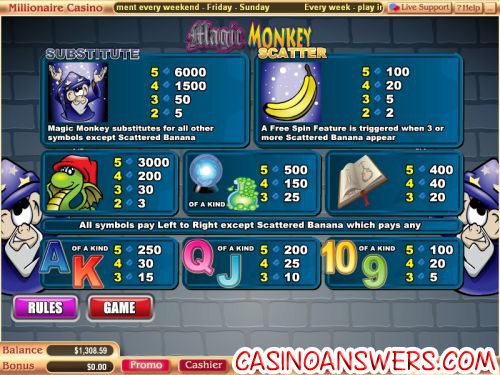 magic monkey slot 2