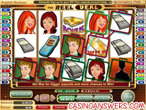 reel deal or no deal slot