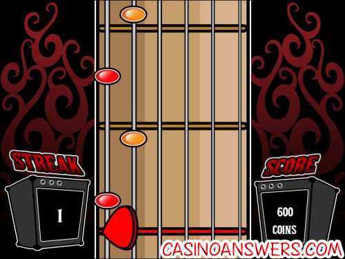 rock on interactive slot