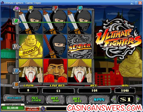 ultimate fighters slot