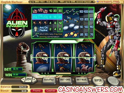 alien invasion classic slot