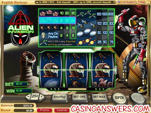 alien invasion classic slot