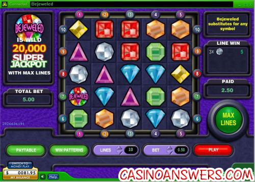 bejeweled video game slot 1