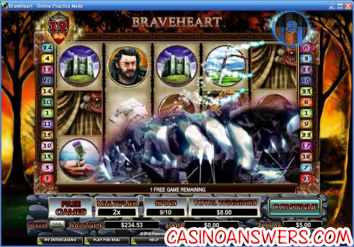 braveheart video slot 2