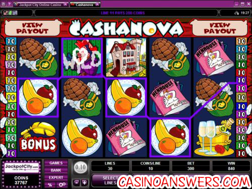 cashanova slot machine 1