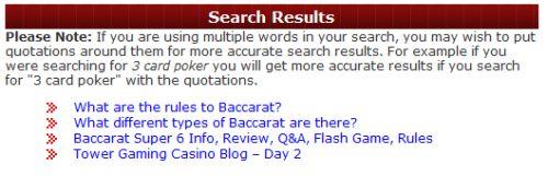 casino answers 2