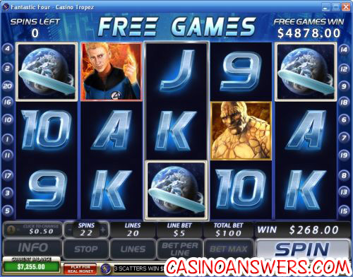 fantastic four slot 1