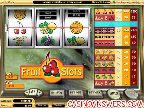 fruit slots screenshot