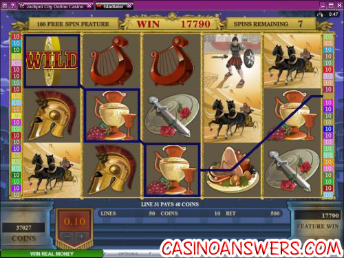 gladiator microgaming slot 1