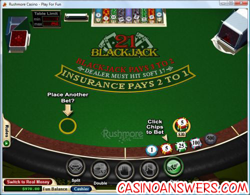 how to play blackjack online 2