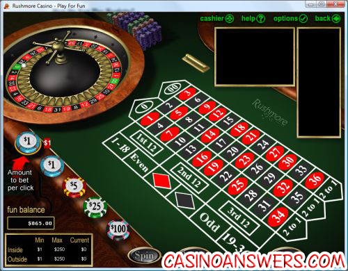 how to play roulette 1