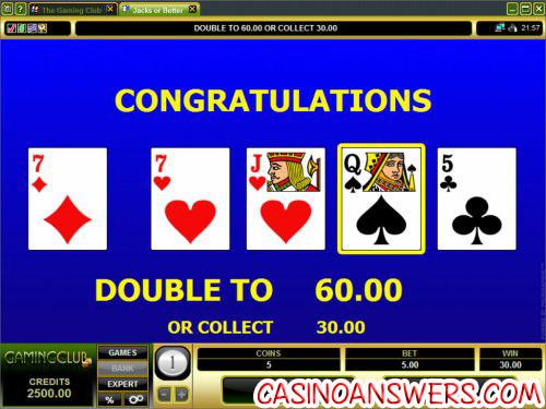 how to play video poker 5