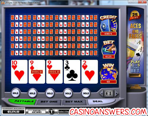 how to play video poker 6