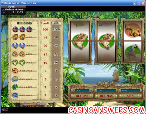 pirates slot machine game