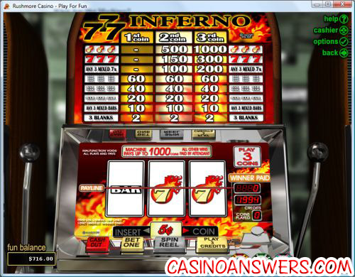 what are online slot machines