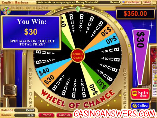 wheel of chance slot 2