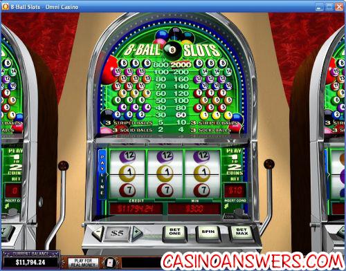 8 ball casino slots