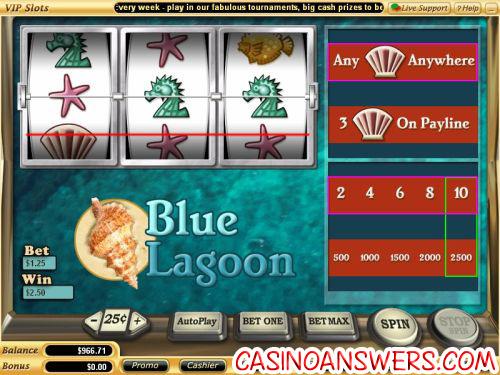 blue lagoon classic slot