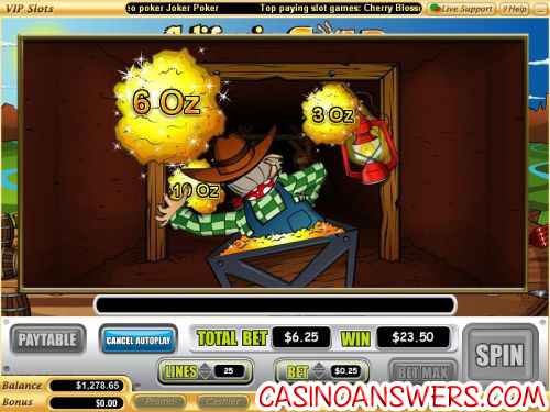california gold vegas tech video slot 2