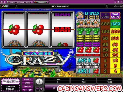 crash crazy classic slot