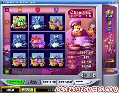 Play Chinese Kitchen Slots Online at Casino.com Canada