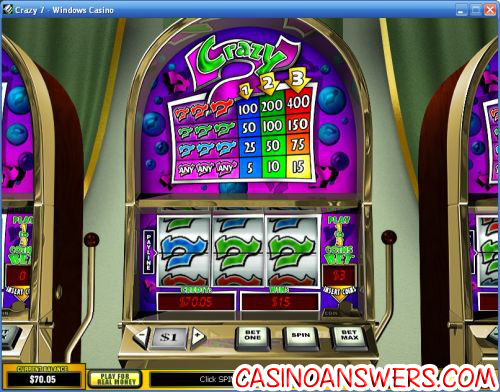 crazy 7 classic slot machine