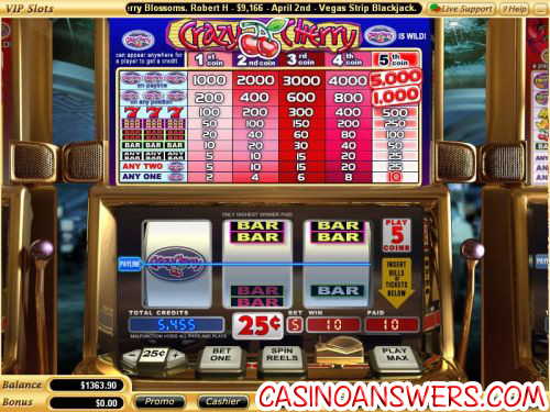 crazy cherry classic slot