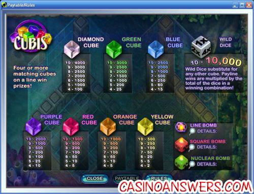 cubis bejeweled casino bonus game