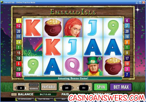 emerald isle video slot