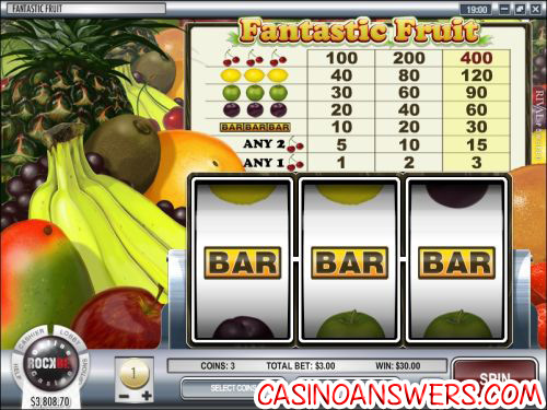 fantastic fruit classic slot machine