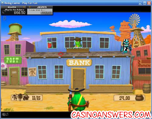 freaky wild west ctxm bonus game