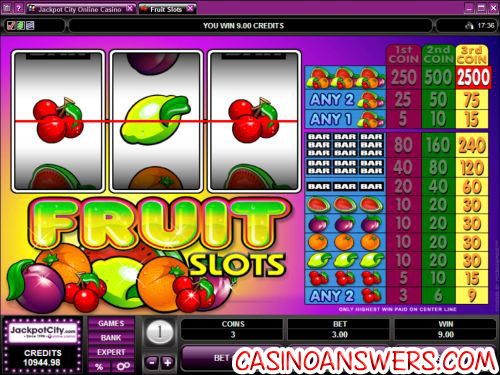microgaming fruit slot machine