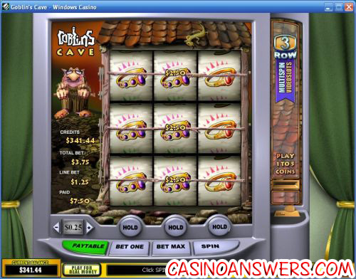 goblins cave video slot machine