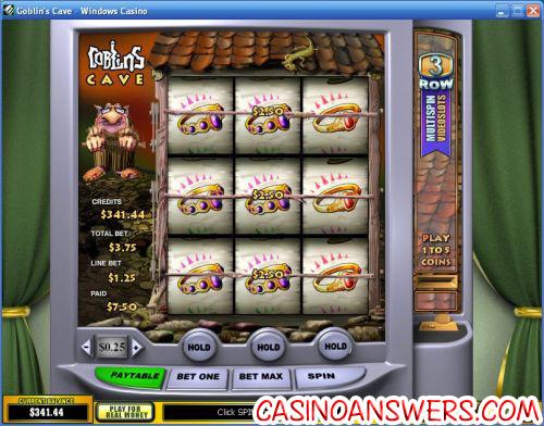 goblins cave video slot machine