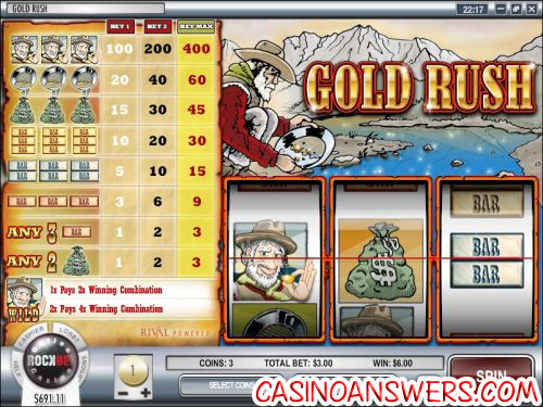 gold rush slot machine 1