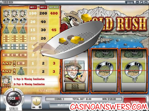 gold rush rival slot machine 2